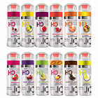 System Jo 120ml / 4fl oz flavoured lubricant. H2O Big flavour lube - 12 flavours