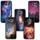 patterned outer space star nebula galaxy universe for samsung rubber TPU case