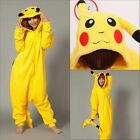 Hot Unisex Adult Animal Onesies Kigurumi Pyjamas Sleepwear Onesie Dress Pikachu