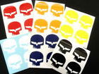 """1 SETS OF 4 JAKE Corvette C6 Decals 1.5""""X1.5"""" High quality BUY 2 sets 3ed FREE"""