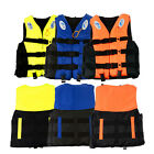 S-XXXL Adult Polyester Life Jacket Universal Swimming Boating Ski Vest+Whistle H