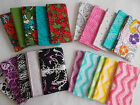 FAT QUARTER BUNDLE 100% Cotton fabric 4 designs to choose from