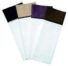 Navy Hotel 300 TC Cotton Sateen Sheet Set Full