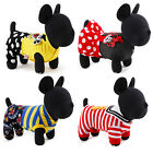 Mickey Pet Dog Clothing Jumpsuit Small Medium Puppy Dress Dog Apparel Costume