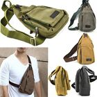 Backpack Bag Fanny Canvas Hiking Shoulder Men Travel Military Hiking Gift New j