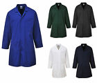 PORTWEST VENTED LAB COATS STUD FRONT MEDICAL DOCTORS PRE-SHRUNK JACKET