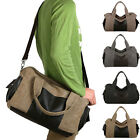 New Stylish Men's Large Capacity Canvas Handbag Shoulder Bag Crossbody Tote Bags