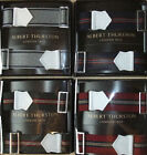 ALBERT THURSTON Adjustable Elastic ARMBANDS for your shirt sleeves NEW colours