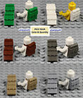 Внешний вид - LEGO - Minifigure Backpack - PICK YOUR COLORS - Non-Opening 2524 Hoth Rebel Lot