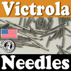 300 GRAMOPHONE NEEDLES for phonograph victrola 78rpm records NEW polished Metal