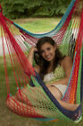 New Breezy Point Mayan Mexican Cotton Handmade Hammock Hanging Chair