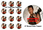 Walking Dead Daryl Personalized Birthday Edible Frosting Sheet Cupcake Cake