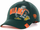 Miami Hurricanes NCAA Top of the World ACC Green Adjustable Poly Cap Hat - OSFA