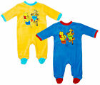 Boys Baby Winnie the Pooh & Tigger Sleepsuit All in One Romper 3 to 23 Months