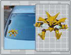 ALAKAZAM POKEMON Cartoon Vinyl Decal #1 PICK A SIZE! Anime Car Laptop Sticker