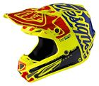 Troy Lee Designs 2017 SE4 Carbon MIPS Helmet Factory Flo Yellow Adult All Sizes