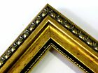 1 3/8' Gold Patina Ornate Wood Picture Frames-Custom Made Panoramic Sizes