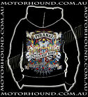 DRAGSTAR HOODIE JACKET ROCKABILLY SAILOR JERRY SWALLOWS TATTOO DESIGNS 8 12 16