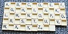 Vintage Original Plastic Square Backed Scrabble Tiles * Choose your letters