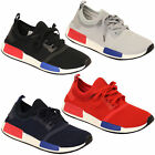 Mens Lace Up Gym Running Trainers Mesh Shoes