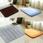Memory Foam Carpet Absorbent Non-Slip Pad Bathroom Entrance Rugs