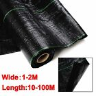 1M / 2M 100gsm Weed Control  Fabric Ground Cover Membrane Landscape Mulch Garden