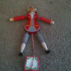 Vintage FAMO Wood Jumping Jack Puppet Pull String Made in Austria $19.99