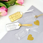 Engraved Acrylic Christening Gift Tags, Baby, Baptism, Naming Day
