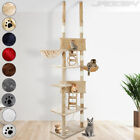 Cat Tree Scratching Post Sisal Activity Centre Bed Climbing Scratcher 230-250 cm