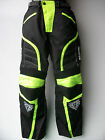 NEW WULFSPORT HI-VIZ ENDURO MOTORCYCLE TROUSERS (ALL SIZES) JEANS PANTS WULF KTM