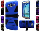For Samsung Galaxy On5 G550 Tough Dual Layer Hybrid U kickstand Cover Case