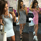 Sexy Women Summer Casual Sleeveless Evening Party Beach Dress Short Mini Dress