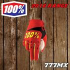 2016 100% AIRMATIC YOUTH MX ENDURO GLOVES - RED *IN STOCK*