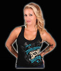 BN MOTOR GIRL CANDY SKULL DAGGER TATTOO SONS OF ANARCHY TANK TOP 8 10 12 14