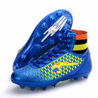 Children Men's High Top Spike Soccer Shoes Trainer Cleats Nail Football Shoes