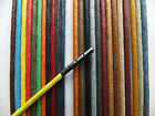 2 or 2.5mm Round Waxed Cotton METAL TIPPED Shoelaces - Dress Shoe Brouges B3G1EF