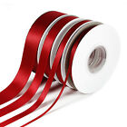 25m/50m Double Sided Faced SATIN Quality Tying Ribbon 3,10,15 & 25mm Widths <br/> 3 for 2(Add 3 to Qualify),Premium Ribbon, Best on Ebay
