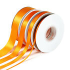 25m/50m Double Sided Faced SATIN Quality Tying Ribbon 3,10,15 &amp; 25mm Widths <br/> 3 for 2(Add 3 to Qualify),Premium Ribbon, Best on Ebay