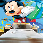 3D Mickey Mouse Show 8 Wall Murals Wallpaper Decal Decor Home Kids Nursery Mural