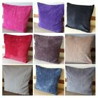 "Modern  Velvet/Chenille  Luxury  Super Soft Touch Cushion Covers 17""x17"""