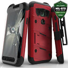 NEW Samsung Galaxy S7 Active Case Cover Tempered Glass Kickstand Holster G891  фото