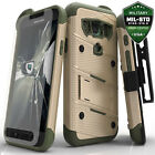 NEW Samsung Galaxy S7 Active Case Cover Tempered Glass Kickstand Holster G891