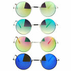 SA106 Mirror Lens Pimp Small Round Circle Lens Hippie Sunglasses