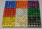 20 x Dice 16mm Dice Board Games Teaching Resources RPG NEW