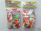 Alphabet Letters or Numbers Foam 2cm Craft Stickers Self Adhesive x 250 approx