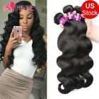 8A Malaysian Virgin Hair Body Wave 3 Bundles Unprocessed Human Hair Extensions