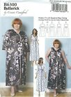 Butterick 6300 Misses' / Women's Robe, Belt and Negligee   Sewing Pattern