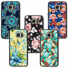 pretty floral flowers girls lady woman for samsung rubber TPU case cover skin