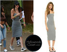 Authentic NEW T by alexander wang strappy tank dress In Heather Grey