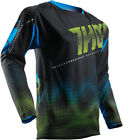 Thor 2017 S7 Fuse Lit Jersey Black Mens All Sizes